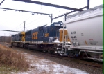 CSX 2487 on Q439